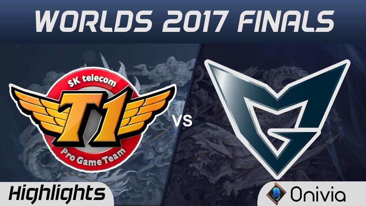 SKT vs SSG Highlights Game 2 World Championship 2017 Finals SK Telecom T1 vs Samsung Galaxy by Onivi
