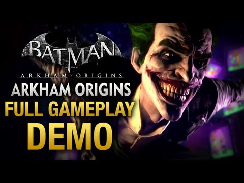 Batman: Arkham Origins - Full Gameplay Demo Walkthrough (E3 2013)