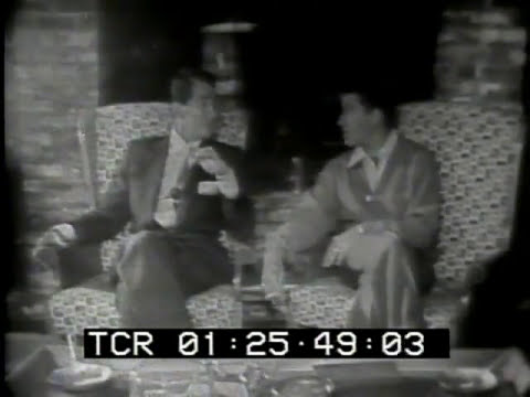 Dean Martin and Jerry Lewis on Person to Person with Edward R. Murrow 1954