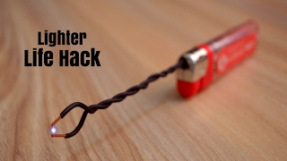 3 Incredible Life Hacks with Lighters !