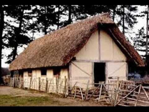 Medieval Times Peasant Houses Youtube