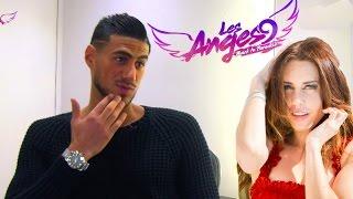 """Guiseppe (Les Anges 9): """"En couple"""" avec Haneia? Découvrez l'étrange réponse du footballeur!"""