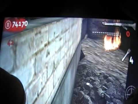 COD:WAW  der riese invincibility high rounds and more glitches on ipod touch