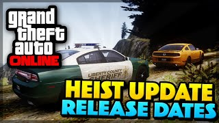 GTA 5 Online Heist DLC Update - Release Date, Discussion, & MORE! (GTA 5 Gameplay)