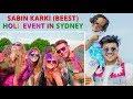 Viral Bhaidiyo - SABIN KARKI (Beest) Holi event live  in Sydney : Sabin Karki Beest