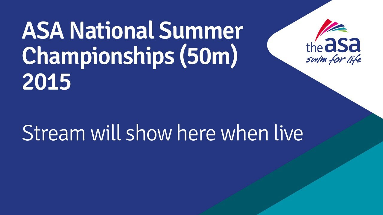 ASA National Summer Champs 2015 - Day 2 Heats