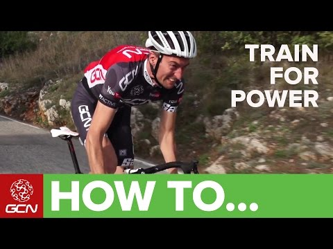 How To Train For Power - Tips For Improving Your Power On The Bike video