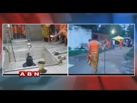 RJD Leader Tej Pratap Dressed Up As Lord Shiva Offers Prayers At Shiva Temple