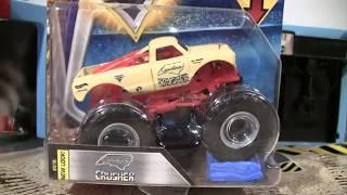 Hot Wheels Monster Jam CAROLINA CRUSHER Flashback 2018 Unboxing