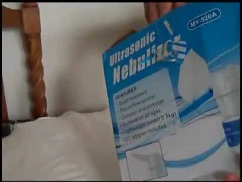 Portable Ultrasonic Nebulizer BY G H