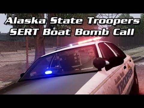 AST Clan GTA IV: SERT Boat Bomb Call!