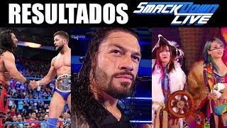 RESULTADOS DE WWE SMACKDOWN LIVE 16 DE ABRIL DE 2019 | SUPERSTAR SHAKE-UP