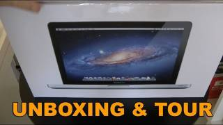 Apple MacBook Pro Late 2011 Unboxing & Product Tour