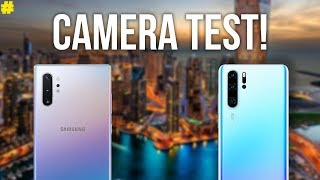 Samsung Galaxy Note10+ vs Huawei P30 Pro: Ultimate Camera Comparison!