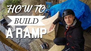HOW TO KICKER/RAMPE BAUEN (German/Deutsch) FOR MTB/BMX