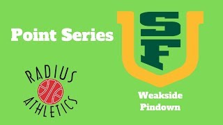 San Francisco Dons - Point Series - Weakside Pindown