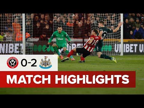 Sheffield United 0-2 Newcastle United  Premier League highlights