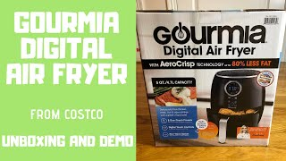 Gourmia Digital Air Fryer GAF575 - Unboxing and Demo, French Fries and Rib Eye Steak