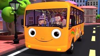 Las Ruedas del Autobus | Little Baby Bum en Español | Canciones Infantiles | Dibujos Animados