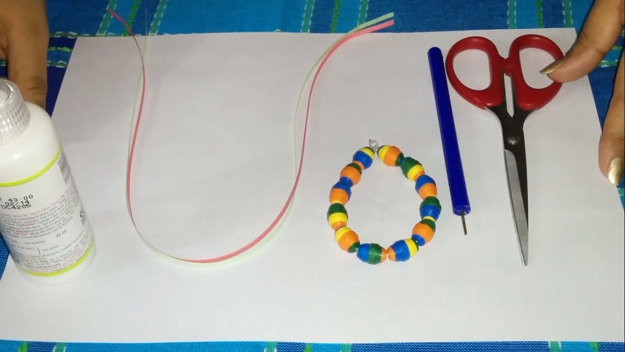 Make Quilling Beads How to Make 3d Quilling Paper