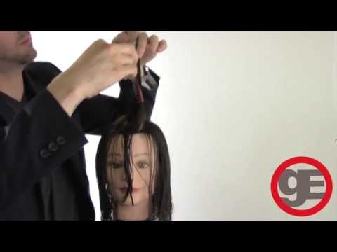 LONG LAYER HAIRCUT WITH FACE FRAME FROM FREESALONEDUCATION.COM