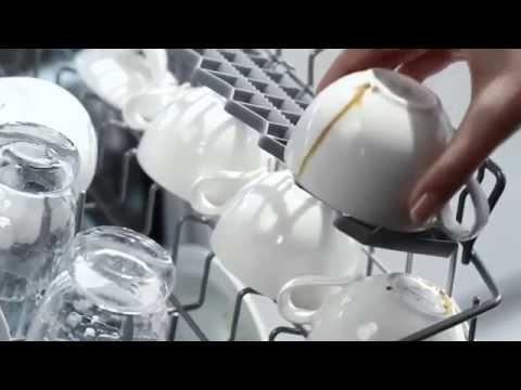 Как лучше разместить посуду в посудомойке