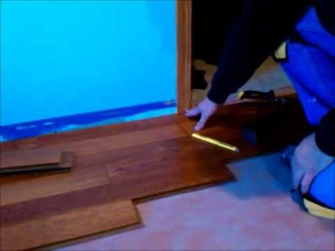 Hardwood Floor Installation DIY