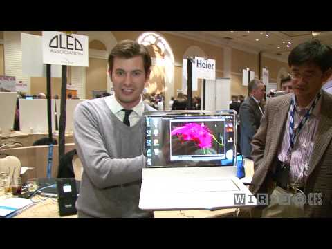 CES 2010: Hands-On With Transparent Display of the Future