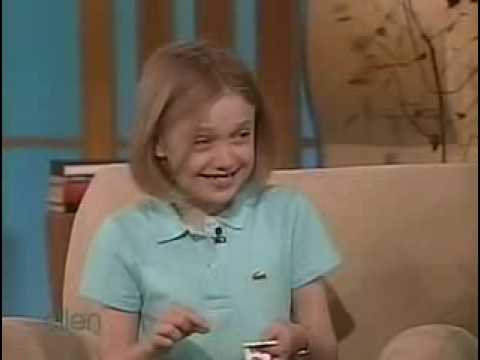 Dakota Fanning on Ellen Degeneres Show