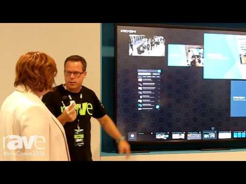 InfoComm 2016: Gary Kayye Interviews Paige O'Neill From Prysm About Display Technology