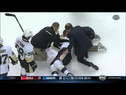 Penguins' Brooks Orpik Leaves Game in a Stretcher After Disgraceful Attack From the Bruins' Shawn Thornton (Video)