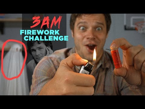 DO NOT LIGHT FIREWORKS AT 3AM (GHOST) | Eric Does The Internet