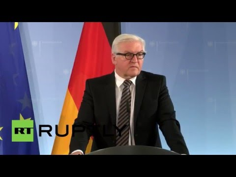 Germany: FM Steinmeier says influx of refugees must be reduced in 2016