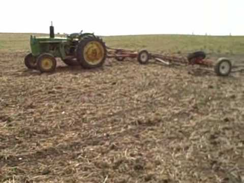 John Deere 2240 hard at work