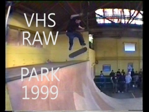 VHS RAW - First sessions at the Bus Station Skate Park 1999