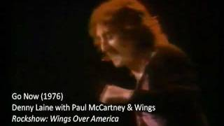 Denny Laine with Paul McCartney and Wings:
