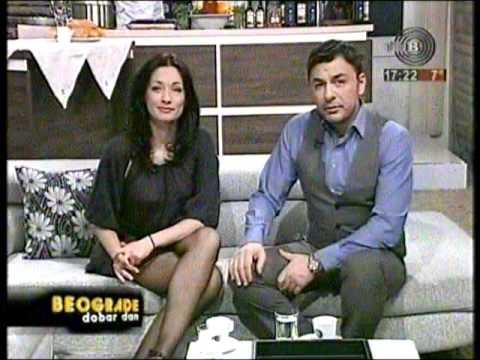 Irena Jovanovic crossed legs