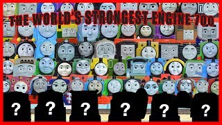 LEGENDARY WORLD'S STRONGEST ENGINE 700: NEW Mystery Thomas and Friends Toys