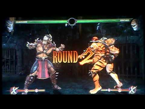 mk Kintaro Babality vs Kintaro Babality Mk9