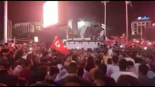 Darbe Karşıtları Kızılay'da Zikir Çektiler - 15 Temmuz Askeri Darbe Girişimi