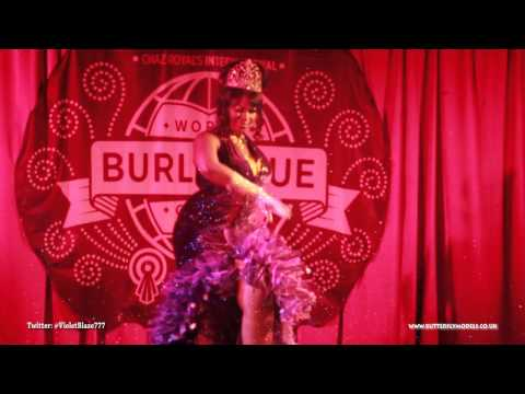 Butterflymodels presents Violet Blaze and the Burlesque Games 2013