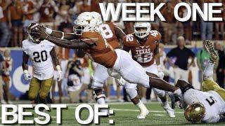 College Football: Best of Week One
