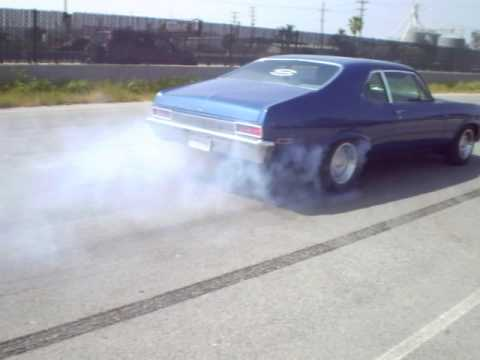 1970 Nova burn out Video