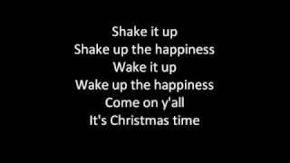 (Lyrics on screen) Train - Shake Up Christmas