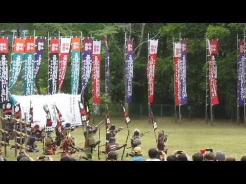第48回 長篠合戦のぼりまつり 火縄銃演武