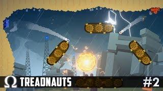 ARTILLERY ACROBATS OF DESTRUCTION! | Treadnauts #2 Artillery Game Ft. Delirious, Cartoonz, Squirrel