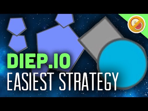 EASIEST STRATEGY TO WIN! | Diep.io Funny Moments #2