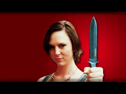Schrade SCHF1 Zombie Stab! | Weapon Test | Zombie Go Boom