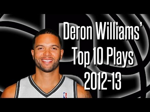 Deron Williams Top 10 Plays 2012-13