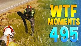 PUBG Daily Funny WTF Moments Highlights Ep 495